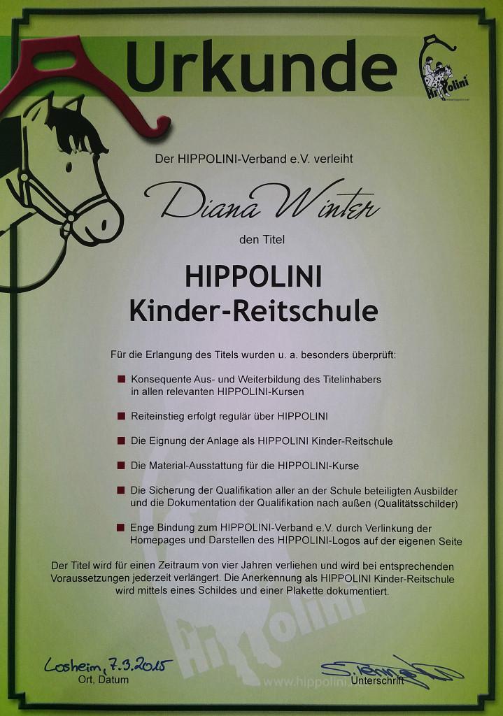 20150307_Urkunde_Hippolini_Kinderreitschule